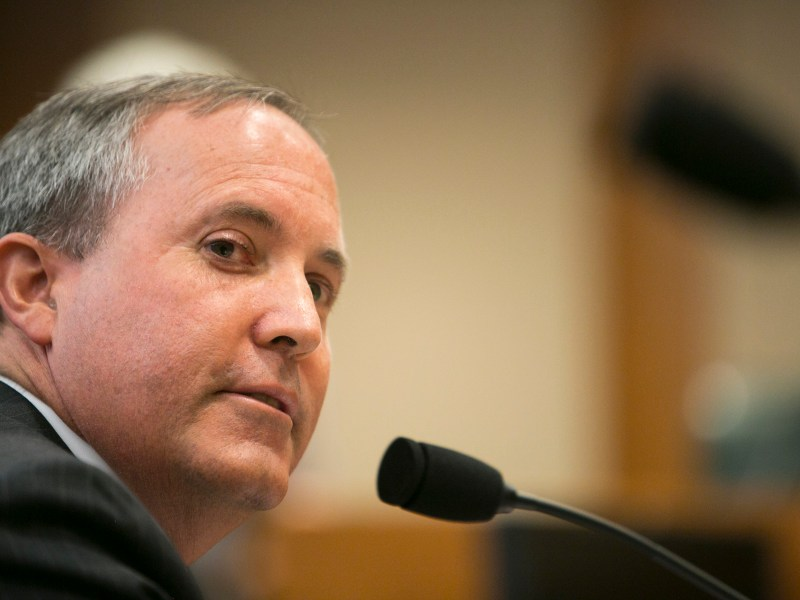 Texas Attorney General Ken Paxton sues San Antonio Independent School District over its vaccination mandate for staff.