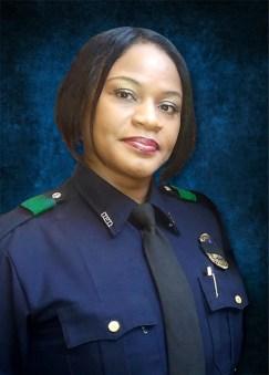Dallas police Sgt. Jennifer Wells.