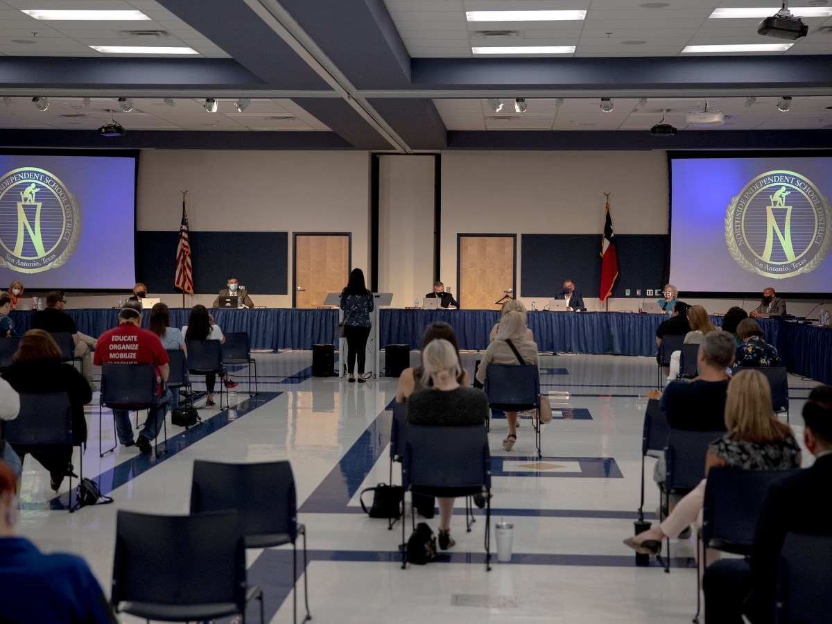 Northside ISD trustees on Tuesday voted to join a lawsuit challenging the statewide order banning mask mandates.