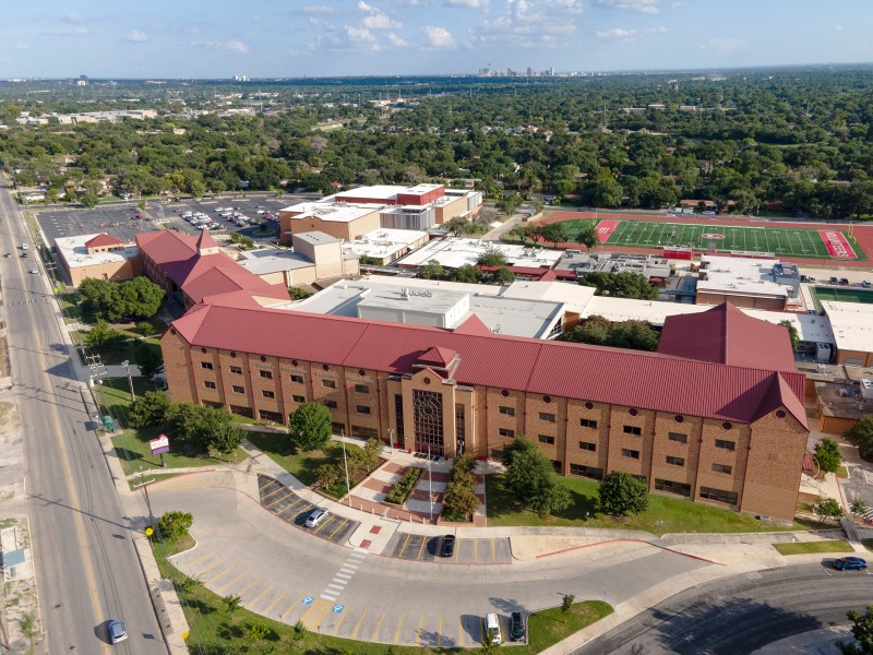 LEE High School could face a COVID-19 outbreak after an NEISD employee tested positive after attending a 500-person convocation ceremony at the school.