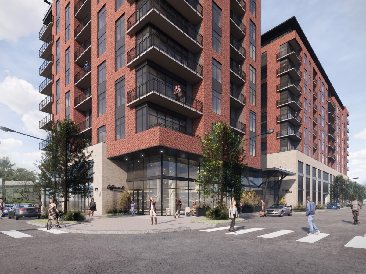A new 10-story apartment and retail building has been approved for construction near the Pearl.