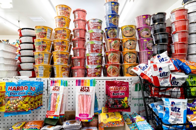 Jefferson's Bodega sells a variety of international snacks imported from Japan, India, England, and more.