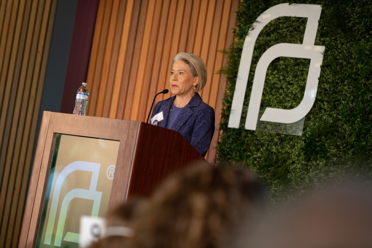 Joan Wyatt, Planned Parenthood South Texas luncheon co-chair, describes her experience with the organization as a young adult.