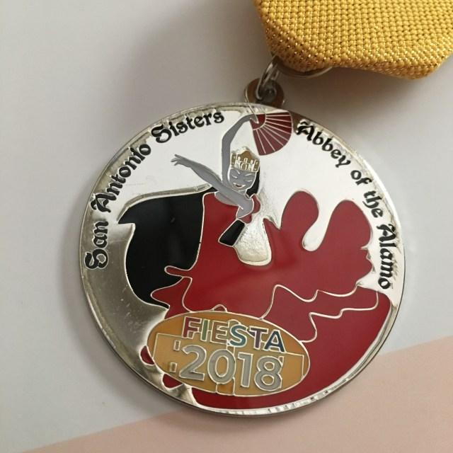 2018 Fiesta Medal