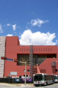 Photo of the San Antonio Public Library's Main Branch