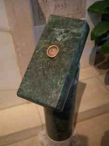 Photo of the relic of St. Anthony de Padua in San Antonio, Texas.