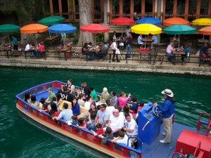 Photo of San Antonio River Walk boat ride.