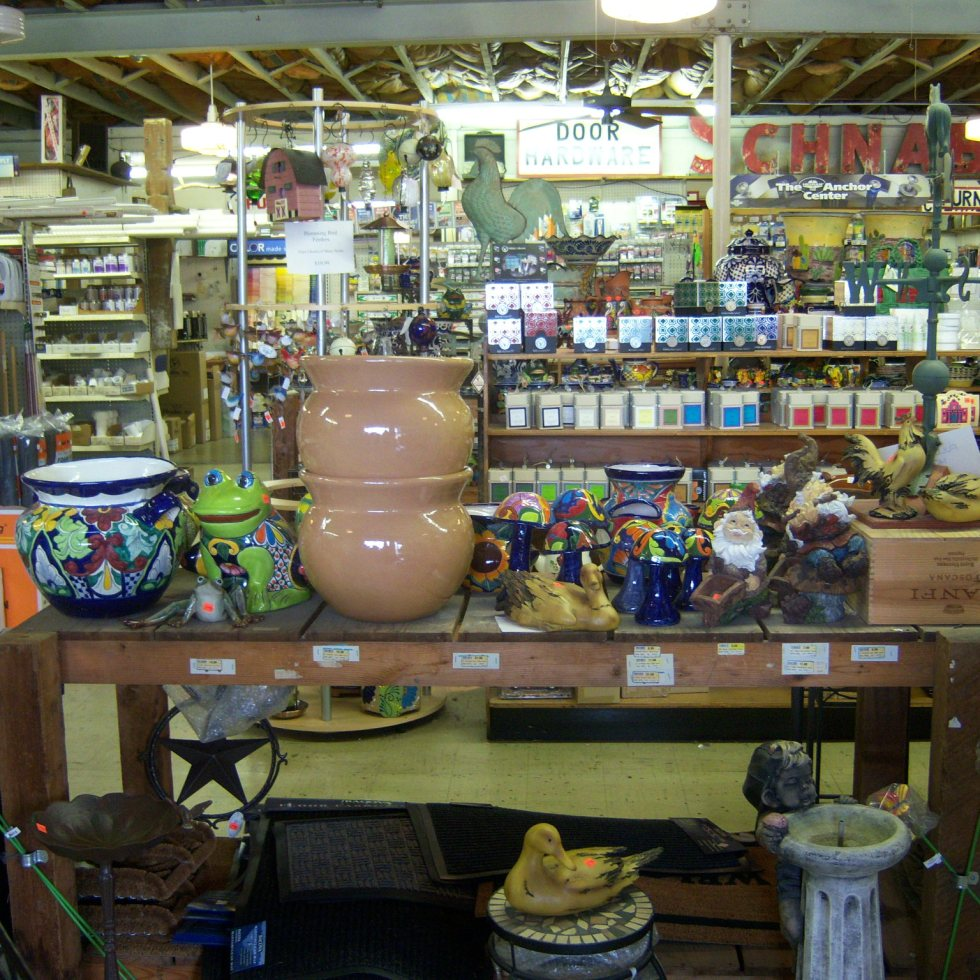 Photo of the interior of Schnabel's True Value Hardware.