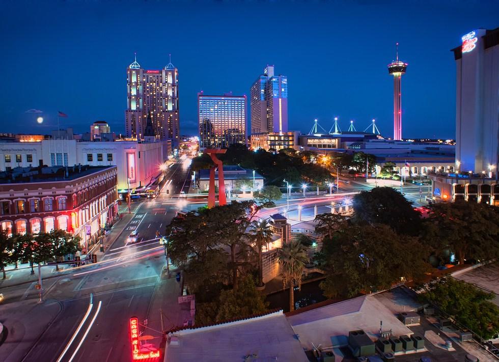 San Antonio City Skyline photo by Katie Haugland Bowen.