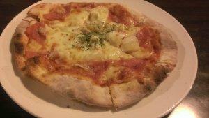 板橋平價美食-龍眼樹窯烤手工Pizza