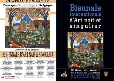 Belgium the 3rd Naif Bienal Chaetau Waroux 2018