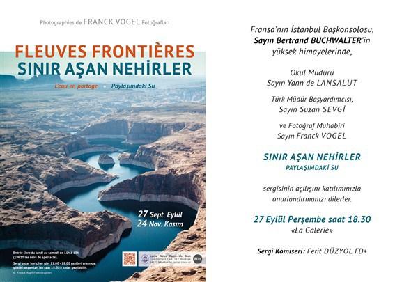"""Franck Vogel """"Sınır Aşan Nehirler"""""""