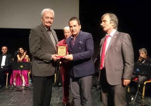 İstanbul Flaş Gazetesi 2018 Onur Ödülleri töreni