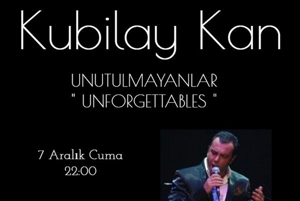 7 Aralık 2018 Cuma Kubilay Kan Konseri
