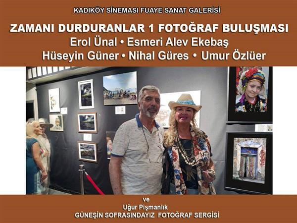 """""""Zamanı Durduranlar 1 Fotoğraf Buluşması"""" sergisi"""