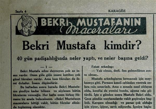 Bekri Mustafa'dan Bir Öykü