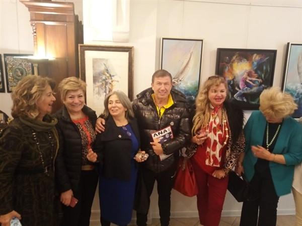 BULUŞMA sergisi Marki Sanat Galerisi'nde açıldı