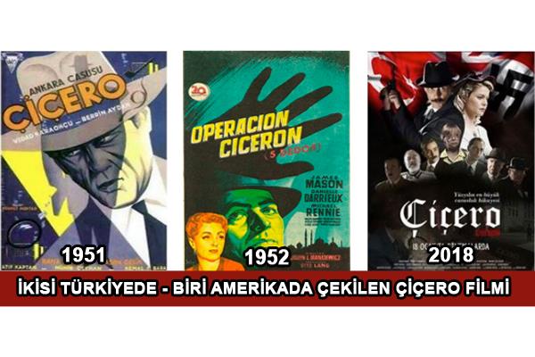 """Değişik Zamanlarda çekilen Üç """"ÇİÇERO"""" Filmi"""