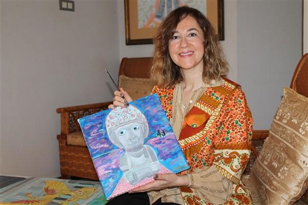Büyükelçi Sedef Yavuzalp'in eserleri ART ANKARA'da