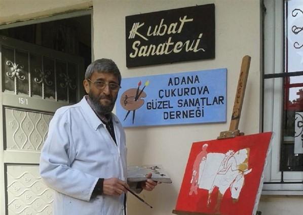 Sanata 51 Yılını adamış Ressam : Veysel Kubat
