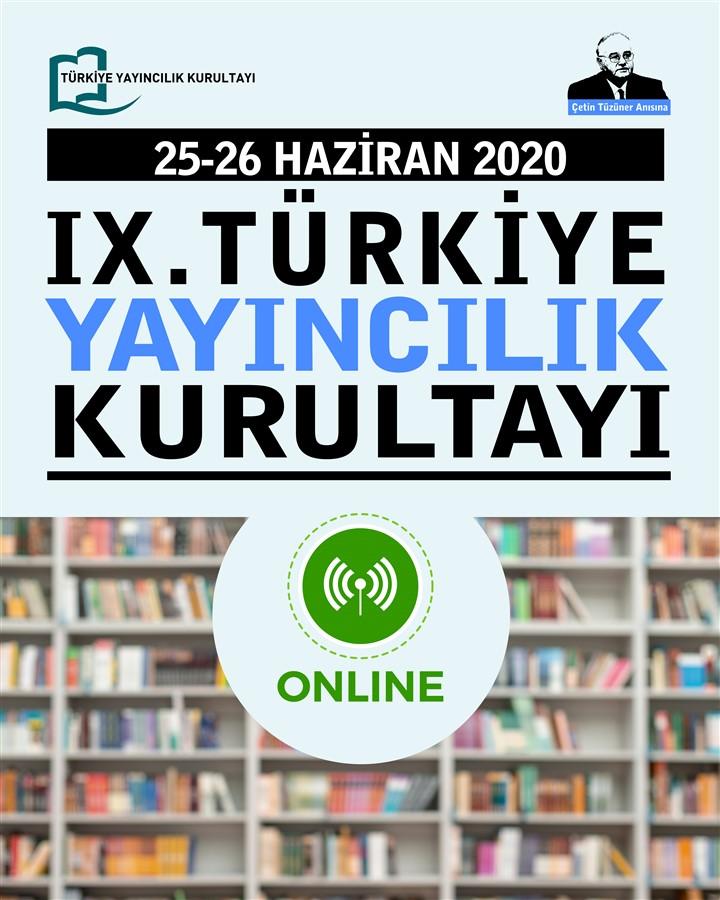 Türkiye Yayıncılık Kurultayı Çevrimiçi başlıyor