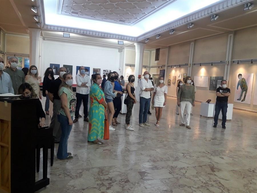 Ekim Geçidi 2020 Sergisi Adana'da açıldı