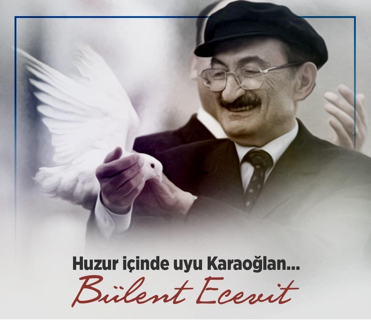 Şair Bülent Ecevit'le Şiir