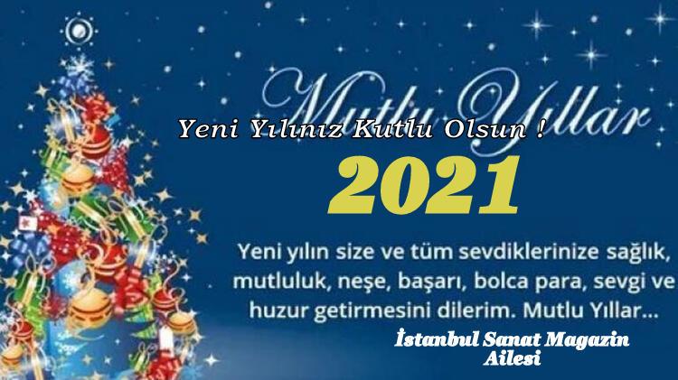 2021 Yeni Yılınız Kutlu Olsun