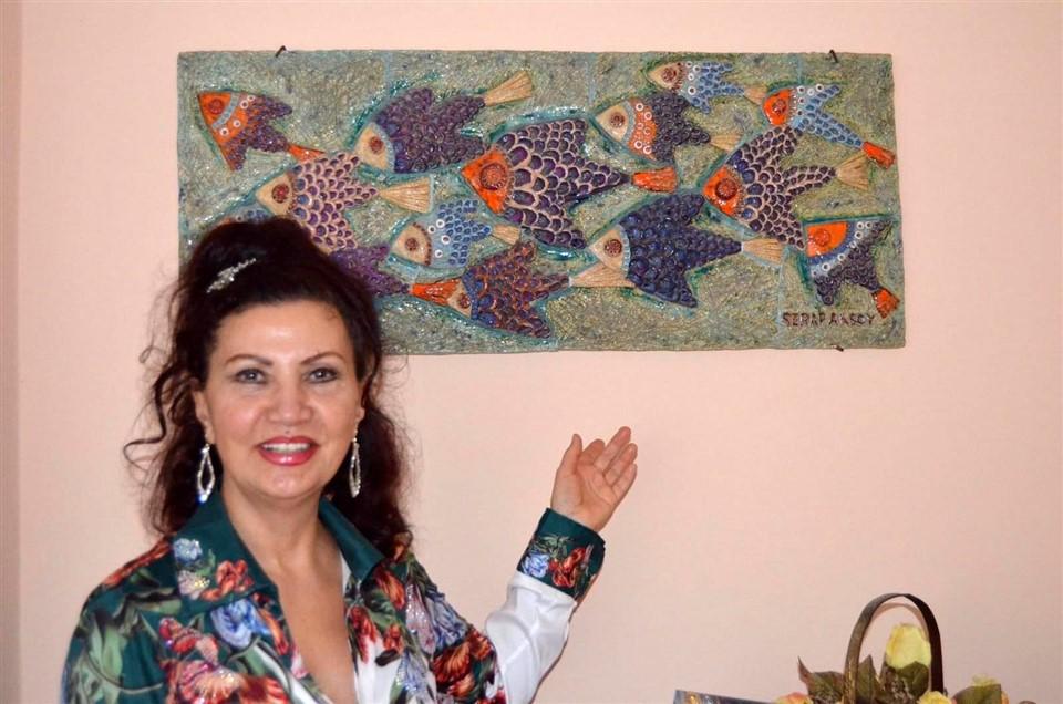 Serap Aksoy'dan Yeni Sergi