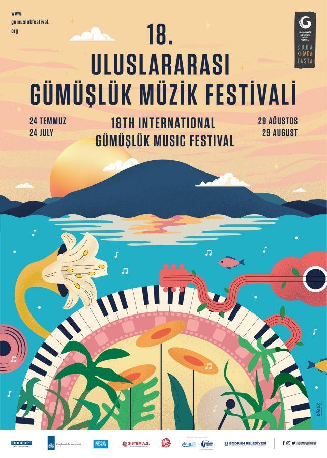18. Uluslararası Gümüşlük Müzik Festivali başlıyor