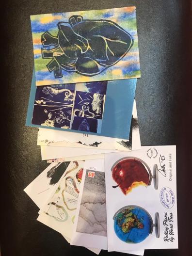 Bahariye Art mail earth 6