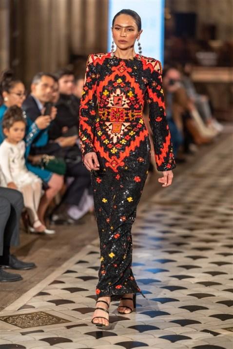 Günay Musayeva Rufat İsmail Paris Fashion Week Foto (1)