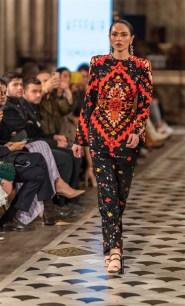 Günay Musayeva Rufat İsmail Paris Fashion Week Foto (5)