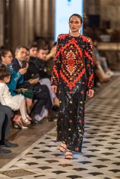 Günay Musayeva Rufat İsmail Paris Fashion Week Foto (6)