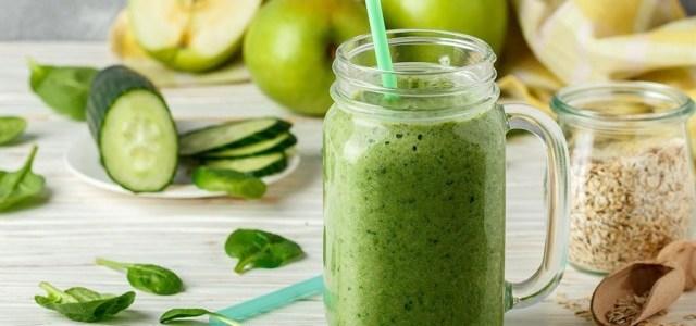 Alege smoothie verde în fiecare zi