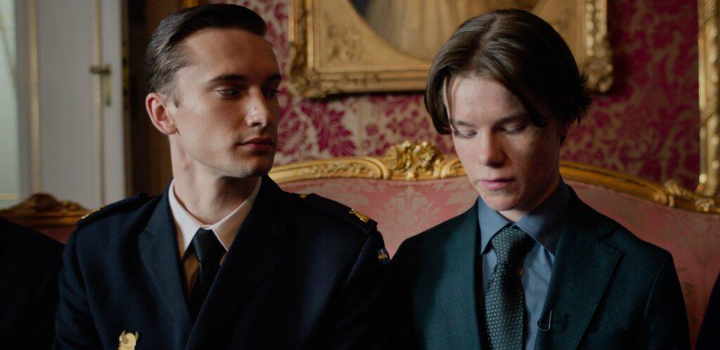 Ivar Forsling como Príncipe Erik na 1ª temporada de Young Royals da Netflix