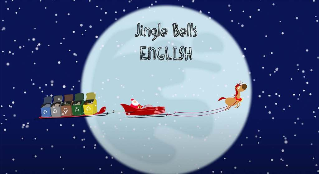 """Jingle Bells, Jingle Bells"" - Mushin Omurca präsentiert 1. Kinderlied Animation"