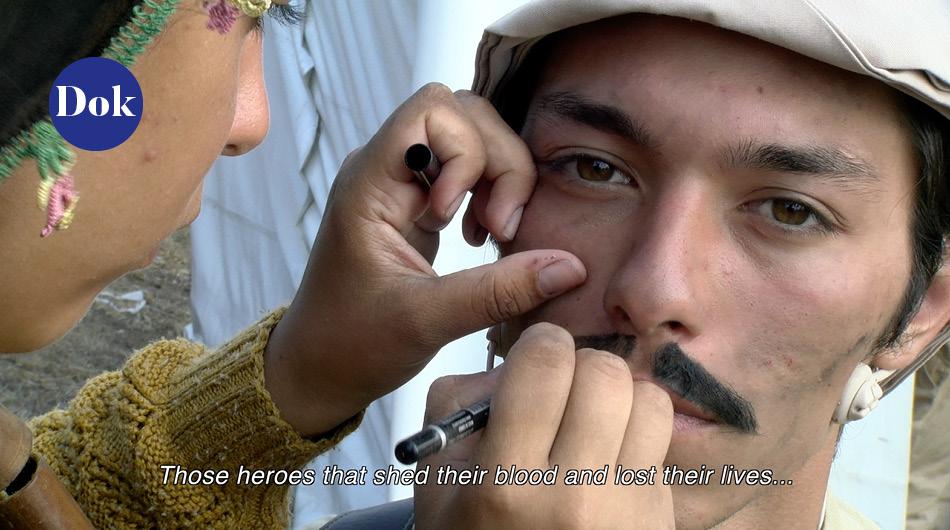 Szenenbild aus Heroes (Şehitler) - dem türkischen Dokumentarfilm