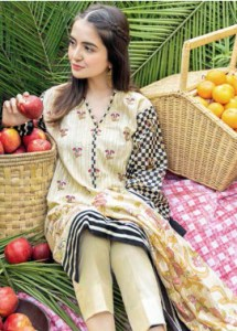 Gul Ahmed CL1123 Basic Lawn