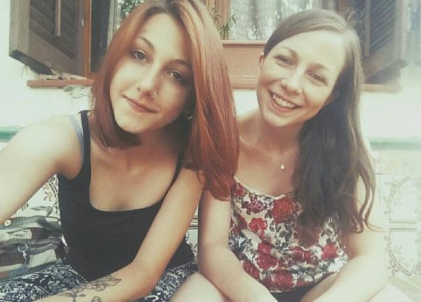 Mi hermana y yo en el 2016