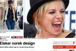 seher.no.online article Sienna Miller wearing Sanaz Shirazi.