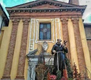 La storia del Convento dei frati francescani