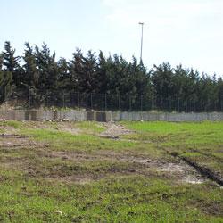 Particolare della discarica di Serra Pastore