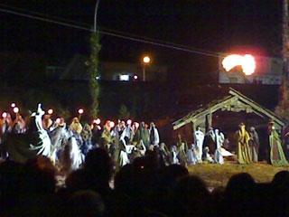 Una serata a Betlemme