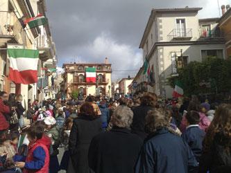 IV NOVEMBRE :  S. Bartolomeo in Galdo commemora i Concittadini Caduti e Dispersi in  guerra