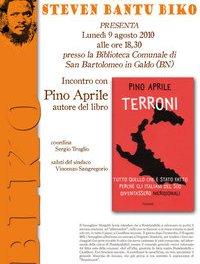 """Presentazione del libro """"Terroni"""" di Pino Aprile"""
