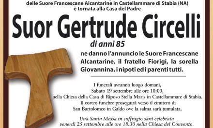 Suor Gertrude Circelli