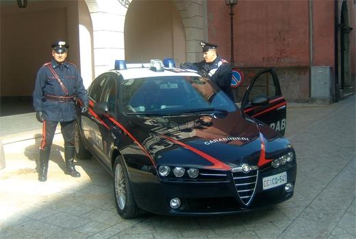 Carabinieri Compagnia di San Bartolomeo in Galdo, misura di prevenzione del foglio di via obbligatorio a carico di quattro persone