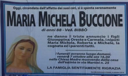 Maria Michela Buccione