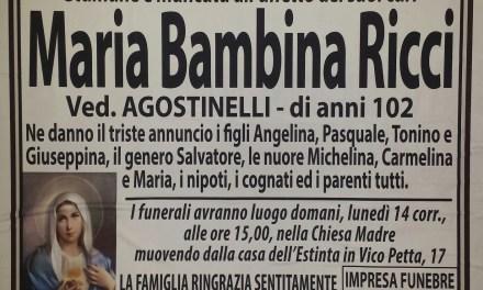 Maria Bambina Ricci